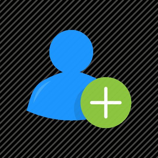 add, add contact, add profile, plus icon