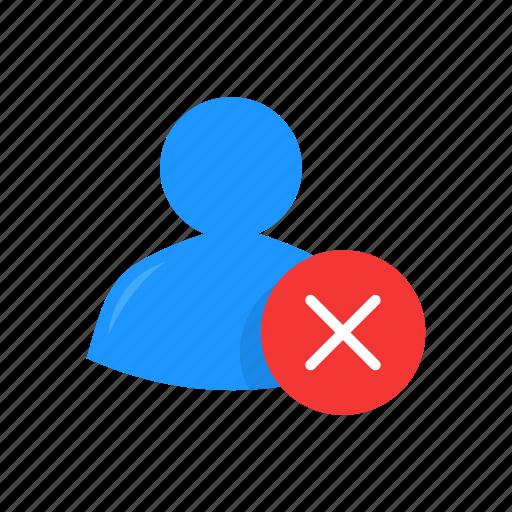avatar, delete, delete contact, profile icon