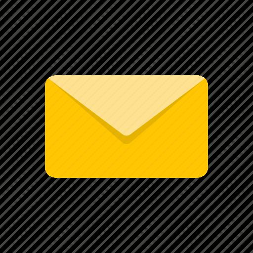 e mail, envelope, letter, message icon