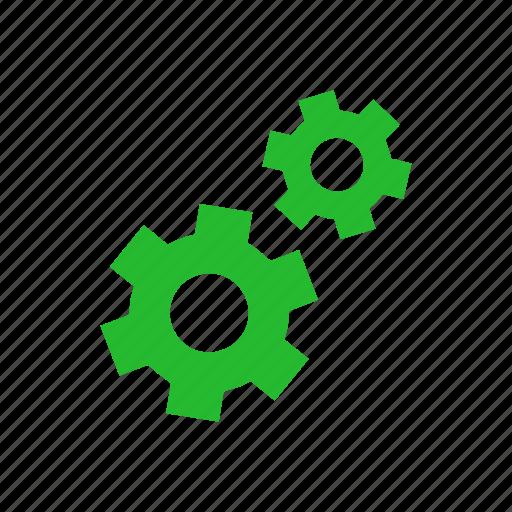 cog, gear, settings, tools icon