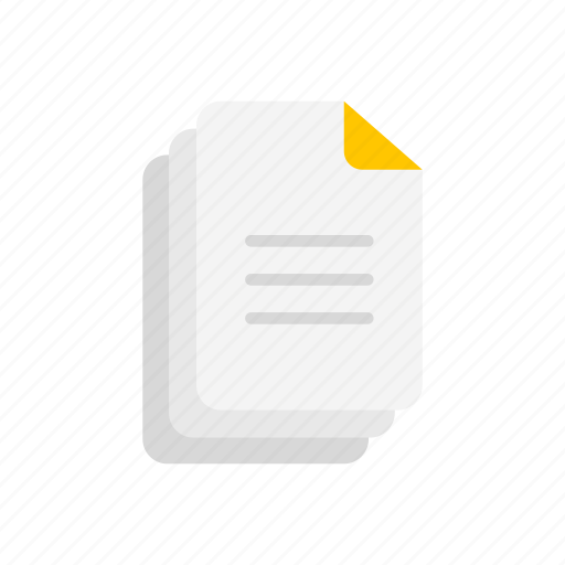 documents, file, note, sheet icon