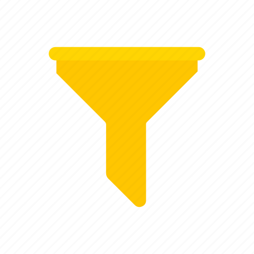 business, filter, funnel, liquid filter icon