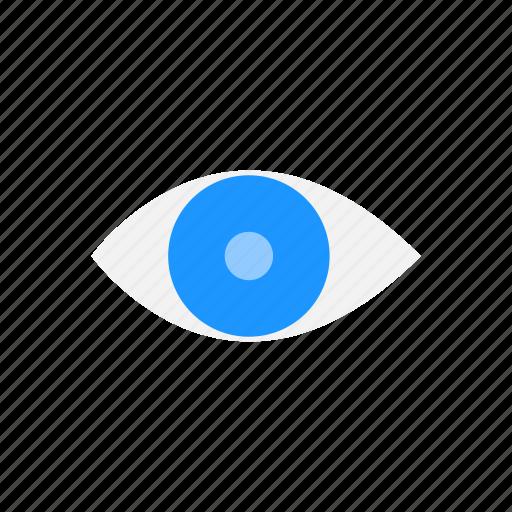 eye, public, publish, seen icon