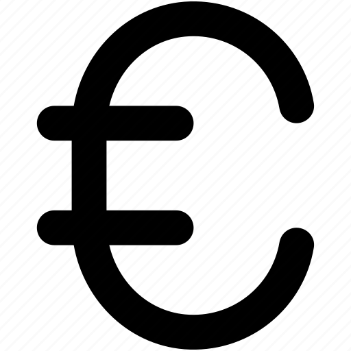 currency, euro, eurozone currency, finance, money icon