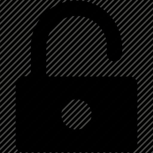 open padlock, safety, unlock, unlock padlock, unlocking icon