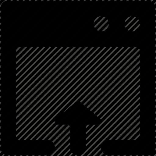 upload, upload arrow, upload sign, uploading, web arrow icon
