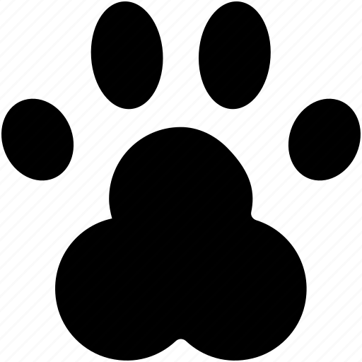 Animal Foot Animal Paw Dog Paw Paw Print Pet Footprint Icon