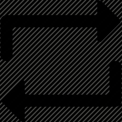 initializing, refresh, sync, sync arrows, synchronization icon