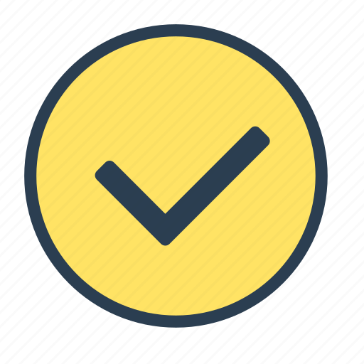 action, check, checkmark, done, finish icon