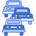 cars, motorcade, vehicle icon