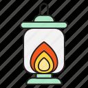 candle, fire, lamp, lantern, light