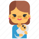 activity, baby, mother, motherhood, nanny, sport icon
