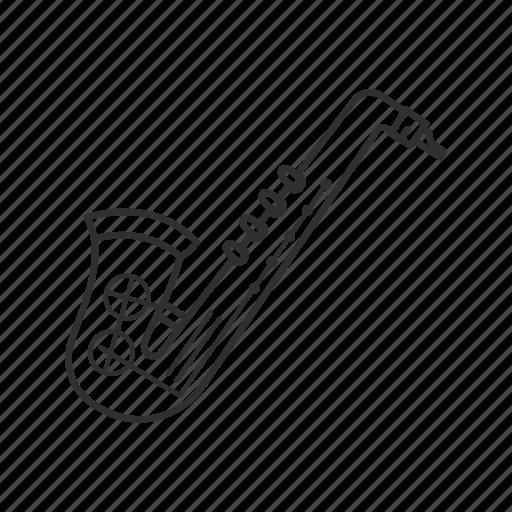 brass, emoji, jazz, music, musical instrument, saxophone, woodwind icon