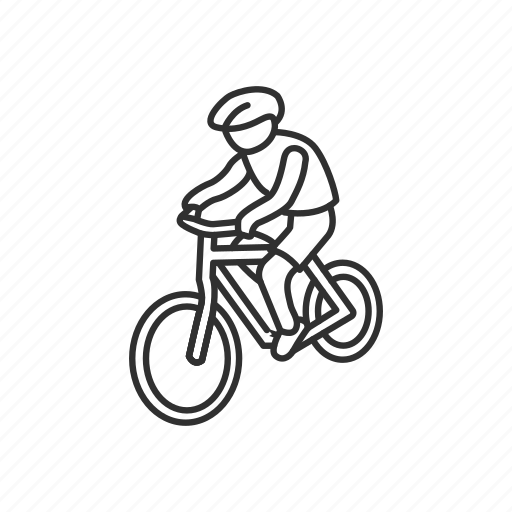 Bicycle, bike, biker, cycling, mountain bike, sports, travel icon - Download on Iconfinder