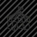 circus, carnival, fair, circus tent, fun, tent