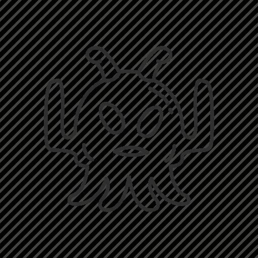 alien, avatar, creature, monster, space, ufo icon