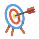 archery, aim, bullseye, focus, goal, shooting, target