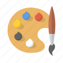 art, artist, brush, color, hobby, paint, painting icon