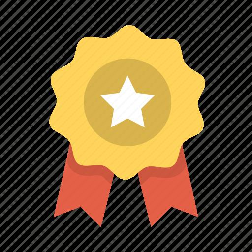 achievement, award, medal, reward, ribbon, success, winner icon