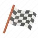 finish, checkered, complete, checker, flag, racing, final
