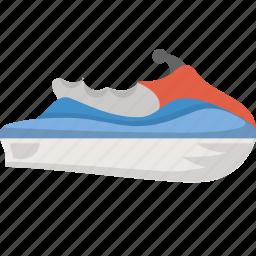 activity, adventure, jetski, jetskiing, travel, water, watersport icon