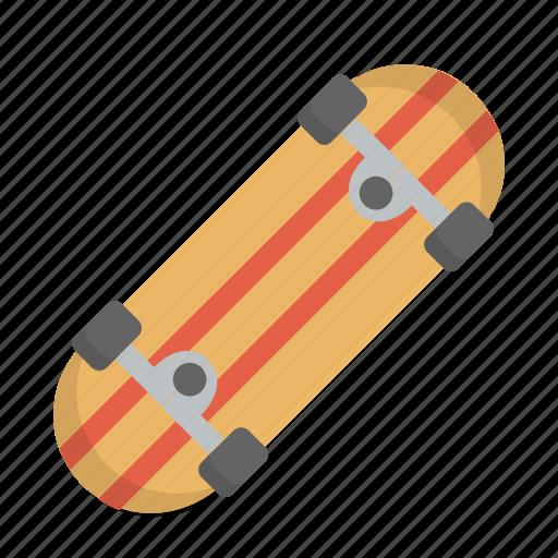 board, leisure, skate, skateboard, skateboarding, skating, sporty icon