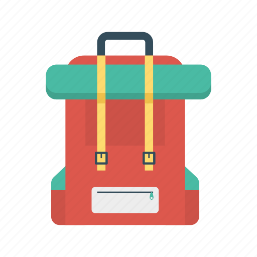 activity, backpack, bag, tour icon