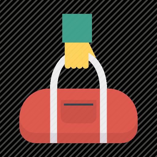 activity, bag, holding, travel icon