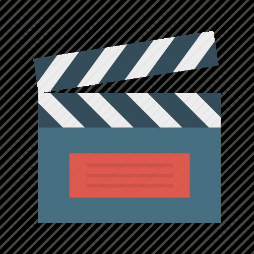 activity, board, cinema, clapper icon
