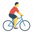 activity, biking, cycling, exercise icon