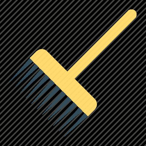 activity, gardening, pitchfork, tool icon