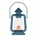 activity, flame, lantern, torch icon