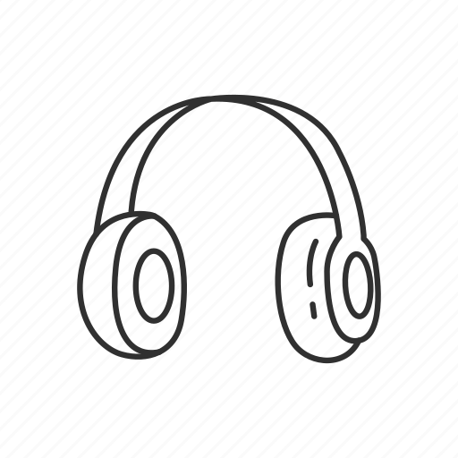 audio, headphone, headset, hear, listen, music, play icon