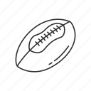 american football, ball, emoji, football, game, play, sports icon