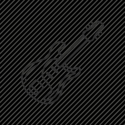 emoji, guitar, instrument, melody, music, play, sound icon
