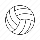 ball, beach volleyball, emoji, serve, spike, sports ball, volleyball icon