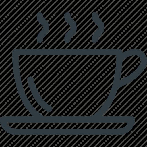 addiction, coffee icon