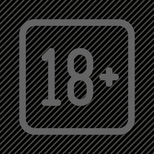 18+, addiction, masturbation, porn icon