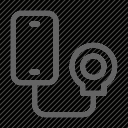 addiction, game, smartphone icon