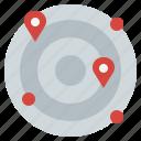 communications, location, place, radar, technology