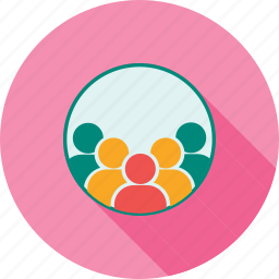 accounts, agents, buyers, client, customers, people, user group icon