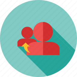 accounts, connection, linked, refer, reference, referrals, users icon