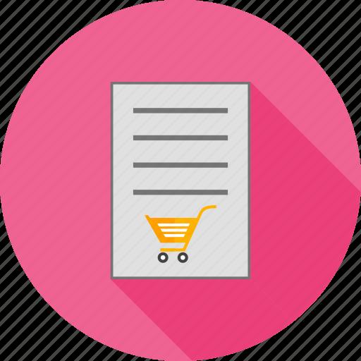 bulleted list, checklist, document, list, numbered, orders, tasks icon