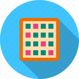 display, files, grid, items, layout, setting icon