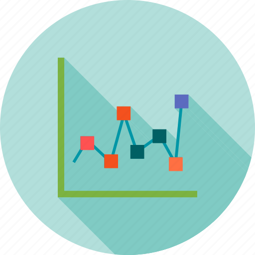 charts, diagram, finance, graph, line, report, statistics icon