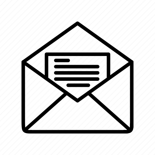 e-mail, envelope, letter, mail, message icon