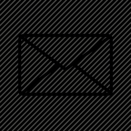 e-mail, envelope, inbox, letter, message icon