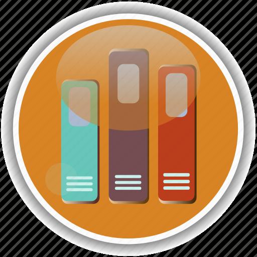 administrative, archive, documents, folder, record icon