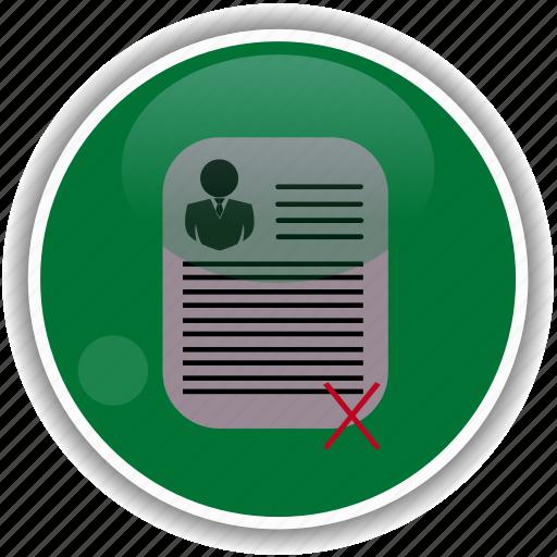 administrative, check, cv, employment icon