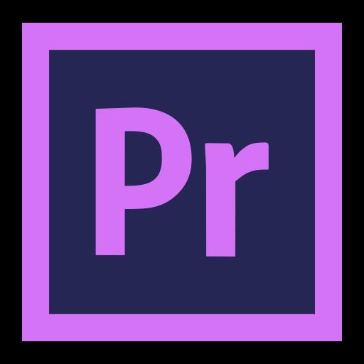 adobe, cc, cloud, creative, premiere, pro icon